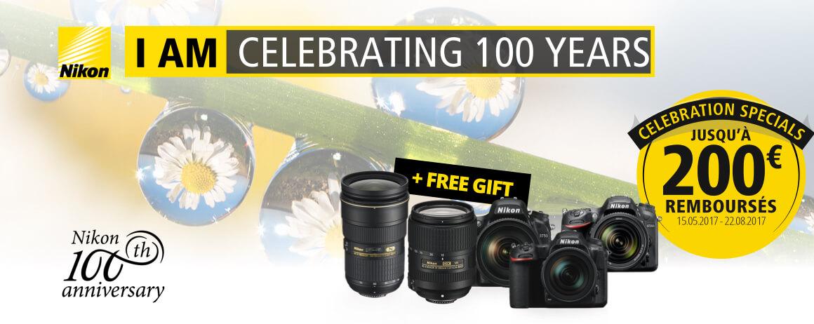 Promotion Nikon 100 ans